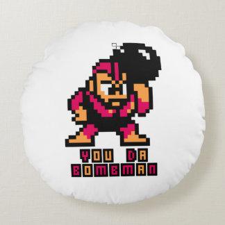 You Da Bombman Round Cushion