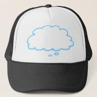 You Design Funny Thought Bubble Add Your Words Trucker Hat