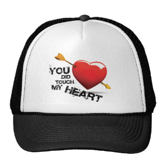 You did touch my Heart Mesh Hats
