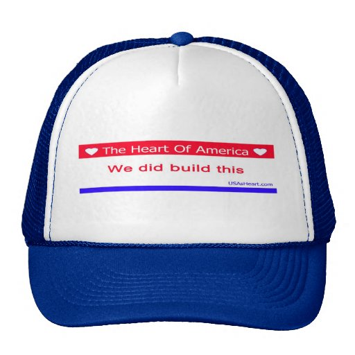 You Didn't Build That - We Did Build This Hats