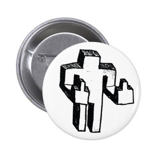 you dig 6 cm round badge