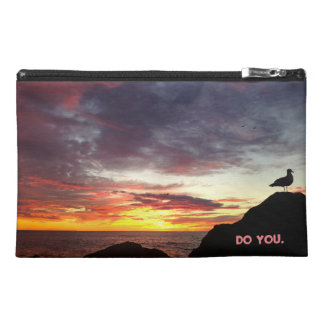 You Do You Sunset Bird Travel Accessory Bags