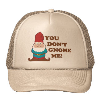 You Dont Gnome Me! Cap