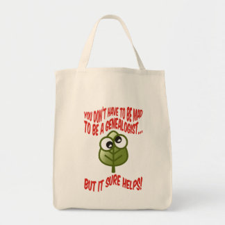 You Don't Have To Be Mad Grocery Tote Bag