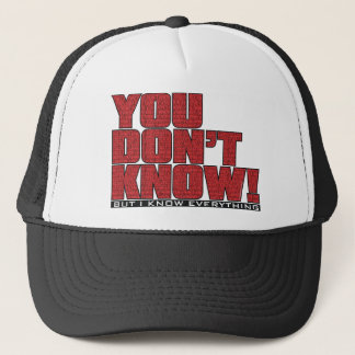 You Don't Know Hat