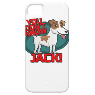 You Don't Know Jack - Russell Terrier Shirt iPhone 5 Case