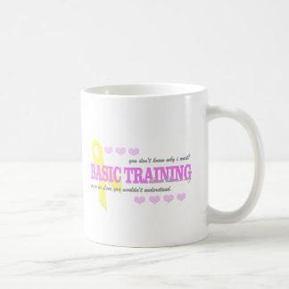 You dont know why,benning basic white mug