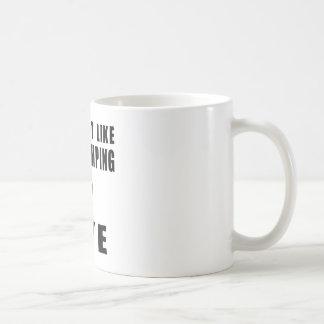 You Don't Like base jumping ? Bye Basic White Mug