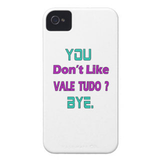 You Don't Like Vale Tudo. iPhone 4 Case-Mate Case