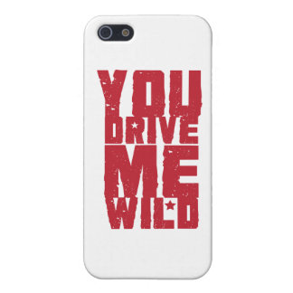 YOU DRIVE ME WILD iPhone 5 COVER