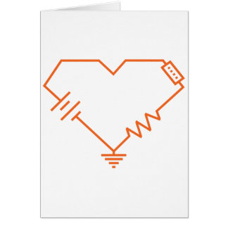 you fry my circuits nerdy romantic valentine card