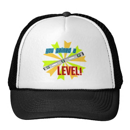 You Gained a Level Hats