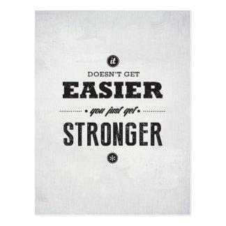 You Get Stronger - Inspirational Postcard