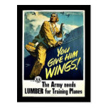 You Give Him Wings! Post Cards