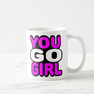 You Go Girl Basic White Mug