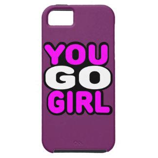 You Go GIrl Tough iPhone 5 Case