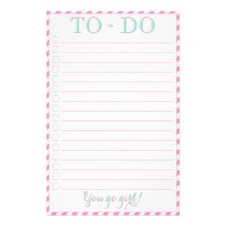 You Go Girl - To-Do List 14 Cm X 21.5 Cm Flyer