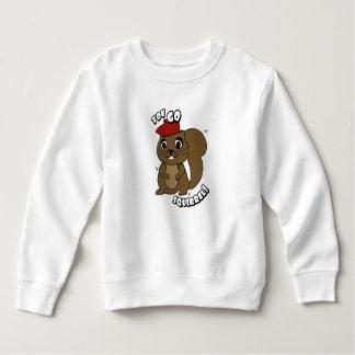 You Go Squirrel Toddler Sweatshirt