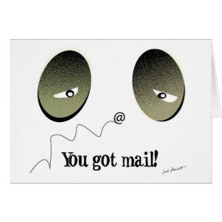 You got mail! card