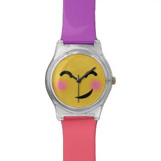 You got me blushing emoji watch