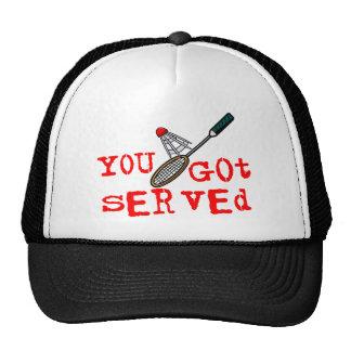 You Got Served Badminton Hats