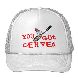 You Got Served Badminton Trucker Hat