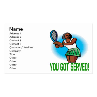 You Got Served Business Cards