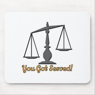 You Got Served! Mousepads