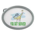 You Got Served.png Belt Buckles