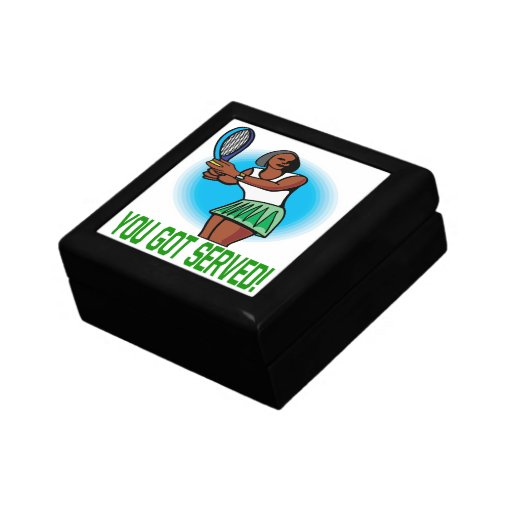You Got Served Small Square Gift Box