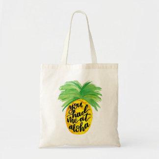 You had me at Aloha Pineapple Tote