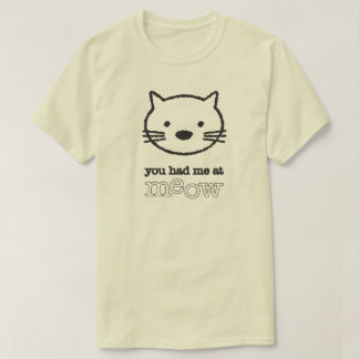 You Had Me At Meow Men's Basic Tee