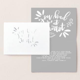YOU HAD ME AT MERLOT! FOIL CARD