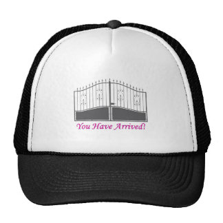 You Have Arrived Mesh Hats