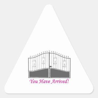 You Have Arrived Sticker