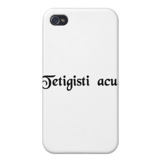 You have hit the nail on the head iPhone 4 cover