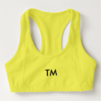 You have it, trademark it. sports bra