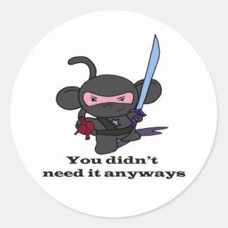 You have my heart... round sticker