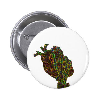 you hold my heart in your hands 2 6 cm round badge