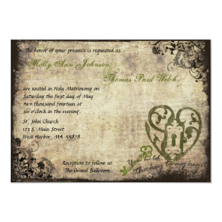 You Hold The Key to My Heart Wedding Invitation