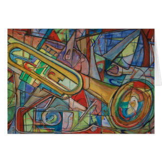 You Jazz Up My Life! Greeting Card by ValAries