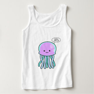 You Jelly Basic Tank Top