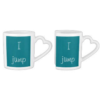 You jump, I jump Coffee Mug Set