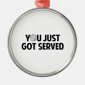 You Just Got Served Christmas Tree Ornaments
