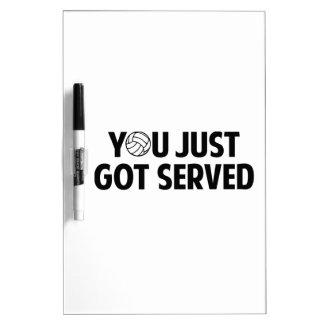You Just Got Served Dry-Erase Board