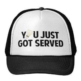 You Just Got Served Trucker Hats