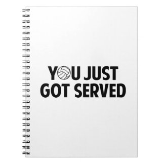 You Just Got Served Spiral Note Book