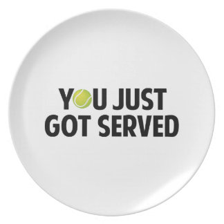 You Just Got Served Party Plate