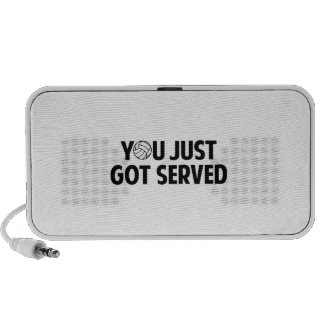 You Just Got Served Travelling Speakers