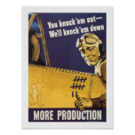 You Knock 'Em Out Posters